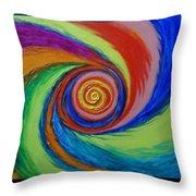 Galaxy M-63 Throw Pillow