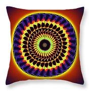 Galaxy Spotlight Kaleidoscope Throw Pillow