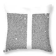 Galen: Opera Omnia Throw Pillow