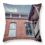 Galena's Architecture  Throw Pillow