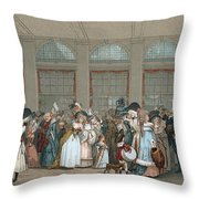 Galerie De Bois, C1740 Throw Pillow
