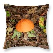 Galerina Marginata Throw Pillow