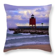Gales Of November Throw Pillow