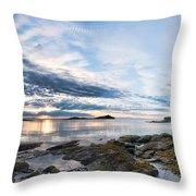 Galiano Panorama Throw Pillow