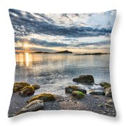 Galiano Sun Star Throw Pillow
