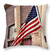 Gallantly Streaming Throw Pillow