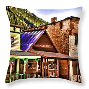 Gallery Throw Pillow