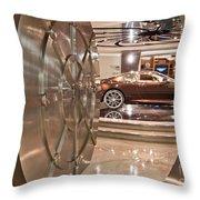 The Vault - Aston Martin Throw Pillow