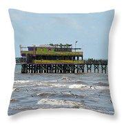Galveston The Sv Throw Pillow