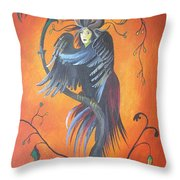Gamaun The Prophetic Bird Throw Pillow