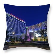 Gambling Light Throw Pillow