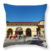 Game Day At Joker Marchant Throw Pillow