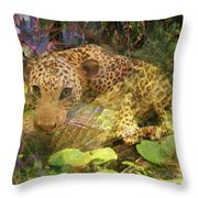 Game Spotting - Square Version Throw Pillow