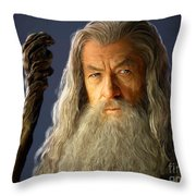 Gandalf Throw Pillow