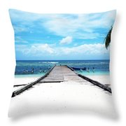 Gangplank Of Perfection Throw Pillow