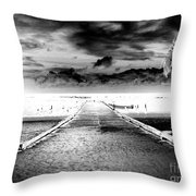 Gangplank Of Perfection Infrared Extreme Throw Pillow