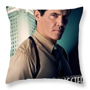 Gangster Squad Brolin Throw Pillow