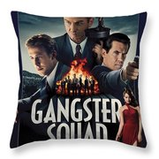 Gangster Squad Throw Pillow
