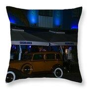 Gangsters At Casablanca Throw Pillow