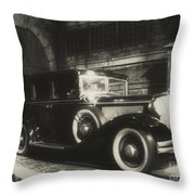 Gangsters Have Alwaystraveled In Style Throw Pillow