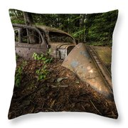 Gangsters Last Ride Throw Pillow
