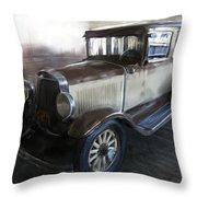 Gansgter Era Automobile Throw Pillow