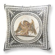 Ganymede Carried Off By Zeus Throw Pillow