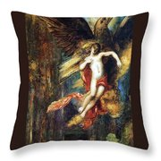 Ganymede Throw Pillow