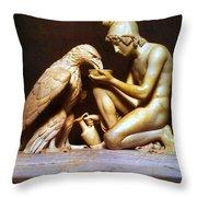 Ganymede Waters Zeus  Throw Pillow