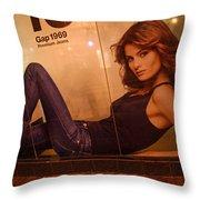 Gap Girls Throw Pillow