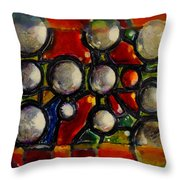 Gaps Between Worlds Throw Pillow