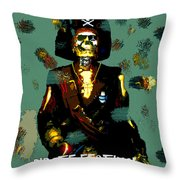 Gasparilla Pirate Fest 2015 Full Work Throw Pillow