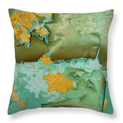Garbage Trees Throw Pillow