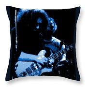 Garcia Rocks Winterland  Throw Pillow