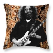 Garciabark Throw Pillow