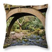 Garden Arch Throw Pillow