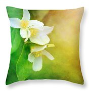 Garden Bliss Throw Pillow
