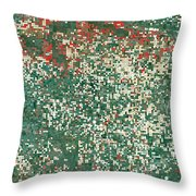Garden City Kansas Throw Pillow