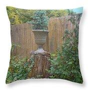 Garden Decor 2 Throw Pillow
