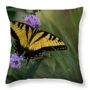 Garden Delight Throw Pillow