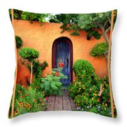 Garden Delights Mesilla Throw Pillow
