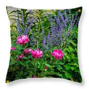 Garden Delights Throw Pillow