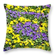 Garden Design Throw Pillow