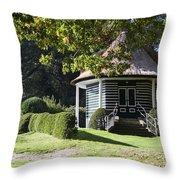 Garden Dome House In City Park Boschveld Arnhem Netherlands Throw Pillow