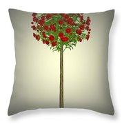 Garden Flowers 4 Throw Pillow