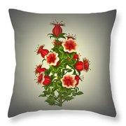 Garden Flowers 8 Throw Pillow