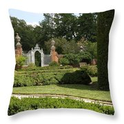 Garden Gate Governers Palace Throw Pillow