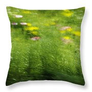 Garden Impressions Throw Pillow
