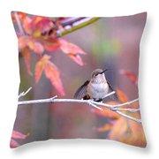 Garden Joy Throw Pillow