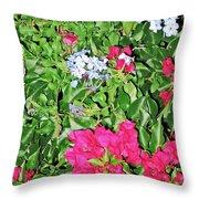 Garden Of Austria Throw Pillow